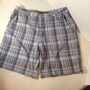Eddie Bauer flat front men's shorts